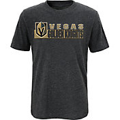 NHL Youth Vegas Golden Knights Home Team Heather Grey T-Shirt