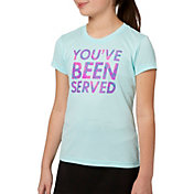 Prince Girls' 'Served' Graphic Tee