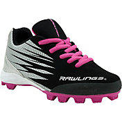 Rawlings Kids' Big Show Baseball Cleats