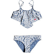 Roxy Girl's Nautical Summer Bandana Two Piece Swim Set