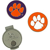 Team Effort Clemson Tigers Hat Clip and Ball Markers Set