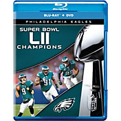 Super Bowl LII Champions Philadelphia Eagles DVD & Blu-Ray Combo