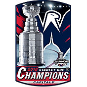 WinCraft 2018 Stanley Cup Champions Washington Capitals 11' x 17' Sign