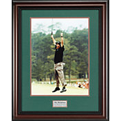 Golf Gifts & Gallery Phil Mickelson Leap at the Masters Framed Photo