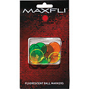 Maxfli Fluorescent Ball Markers – 12-Pack